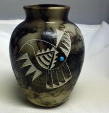 Ginger Jar Horsehair Pottery