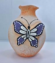 Zuni Tony Lorenzo Pottery Buterfly