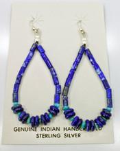 Lapis Lazuli  Turquoise Earrings