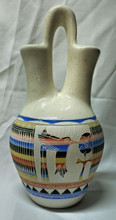 Native American Navajo Pottery Large Wedding Vase Hummingbird by Arviso