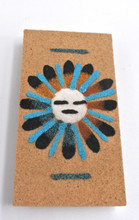 Sunface Magnet Sand painting Native American Navajo
