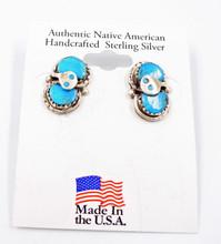 Turquoise Earrings Effie Calavaza