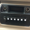 Longhorn Center Console Switch Panel (7 Rocker Switch Cut Outs) (200974)