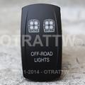 Off-Road Lights Rocker Switch - Contura V (VVPZCBD-5SL1)