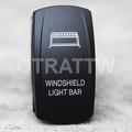 Windshield Light Bar Rocker Switch - Contura V (VVPZCWR-5LB1)