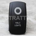 Halo Lights Rocker Switch - Contura V (VVPZCHL-5001)