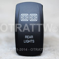 Rear Lights Rocker Switch - Contura V (VVPZC77-54R1)