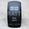 Rear Lights Rocker Switch - Contura V (VVPZC77-54R1)