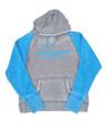 Longhorn Gear | Cement Ocean Berry Ladies Hoodie | Blue Logo | 201005