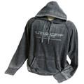 Longhorn Gear |  Acid Wash Hoodie | White Distressed Logo | 201009