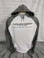 Longhorn Gear | Colorblock Hoodie | Black or White Logo | 201024