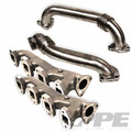 PPE Race High Flow Exhaust Manifold with Up-pipes (116111000)