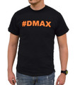 DuramaxGear - Hashtag DMAX Tee - Black and Orange (T14007-O)