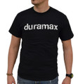 DuramaxGear - Distressed Duramax Tee - Black and White (T14008-WH)