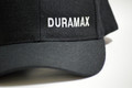 DuramaxGear - Duramax Baseball Cap - Black and White (BC13001-BLKW)