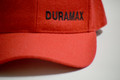 DuramaxGear - Duramax Baseball Cap - Red and Black (BC13001-RB)