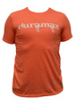 DuramaxGear - Heathered Orange Bleeding Cowboy T-shirt- Orange and White (T14014)