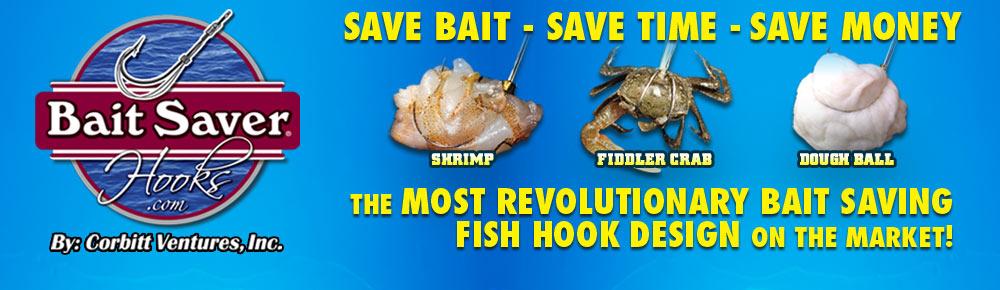 Bait Saver Hooks Hold Bait