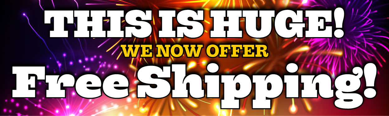 Free Shipping at Sawdust City!