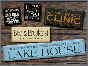 Wood Signs With Funny Sayings and Quotes