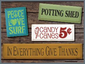 Holiday & Seasonal Wood Signs With Sayings And Quotes