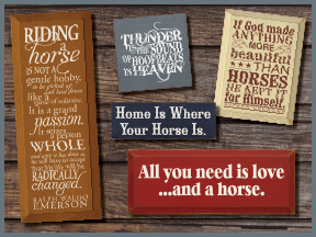 Horse Wooden Signs With Sayings And Quotes