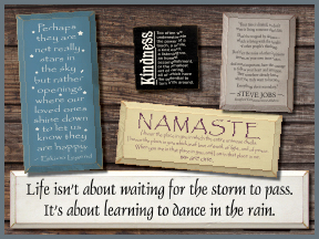 Spiritual And Inspirational Wooden Signs With Sayings And Quotes