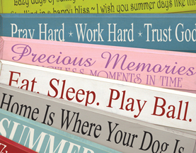 Wooden Signs With Sayings Sawdust City Llc
