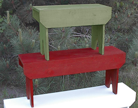 Solid Pine Wooden Benches