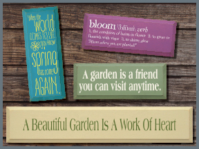 Spring Wood Signs With Sayings and Quotes
