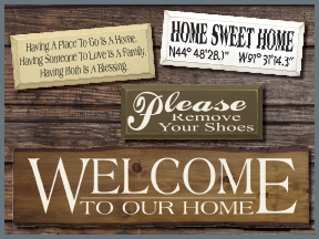 Wood Signs With Sayings and Quotes