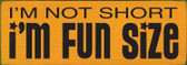 Shown in Old Tangerine with Black lettering