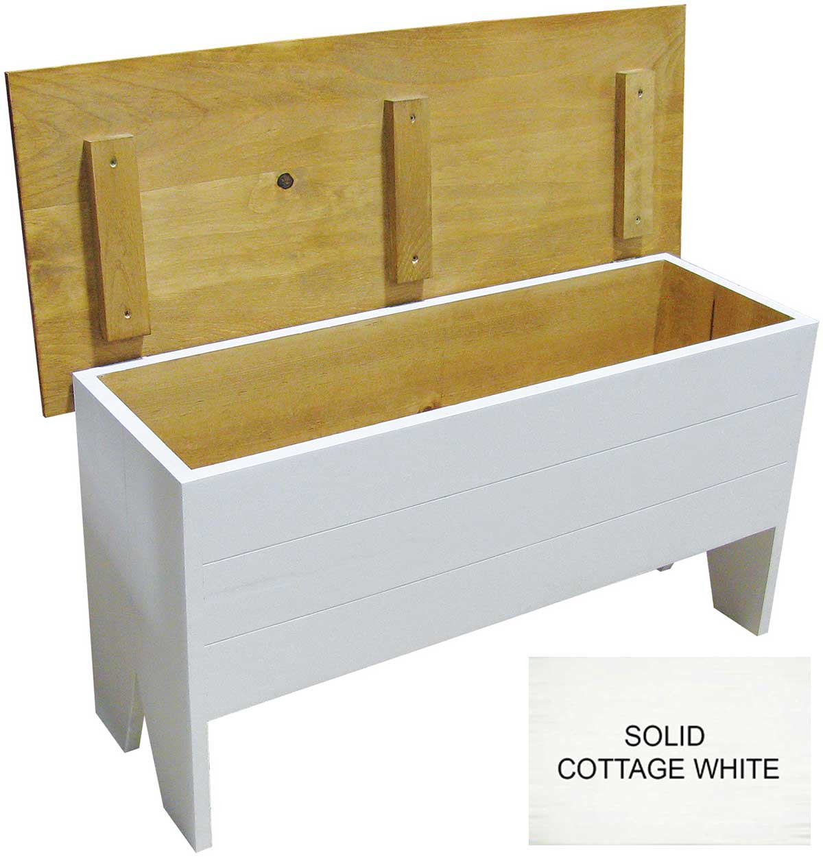 Superieur Shown In Solid Cottage White