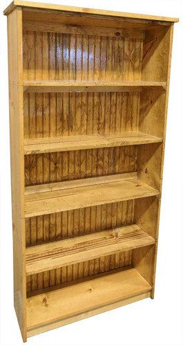 Solid Wood Bookcase 6x3