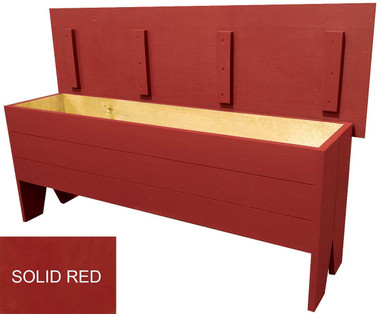 Merveilleux Large Storage Bench 4u0027 Long