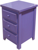 Shown in 2-coat Old Purple with a Clear Poly Coat