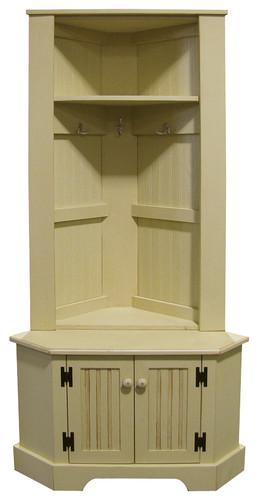 Corner Locker And Bench Set