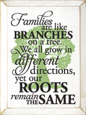 Available in Old Cottage White with Celery tree and Black lettering