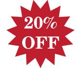 20% Off Custom Sale