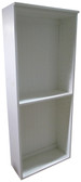 2 foot Wide Bookcase - Solid Cottage White