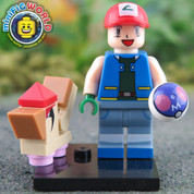 Pidgey and Trainer LEGO compatible Pokemon GO Minifigure