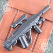 ABR Matt Finish LEGO minifigure compatible Assault Rifle