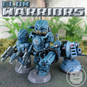 ELON Warriors LEGO compatible Minifigure set