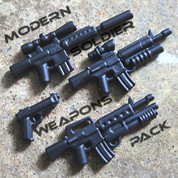 Modern Soldier LEGO compatible Weapons Pack