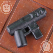 MP-Mini Matt Finish LEGO minifigure compatible Machine Pistol