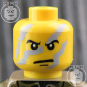 Commando LEGO Minifigure Head