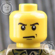 SWAT LEGO Minifigure Head