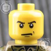 SWAT LEGO Minifigure Head