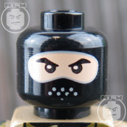 Navy Seal LEGO Minifigure Head