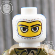 Snow Trooper LEGO Minifigure Head